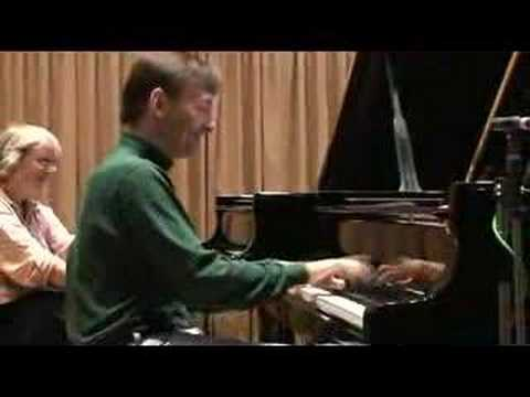 Stephen Hough warms up with Moszkowski