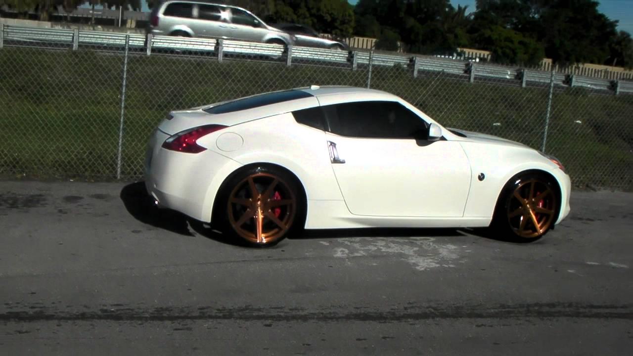 877 544 8473 20 Inch Rohana Rc7 Copper Wheels Nissan 370z Rims Miami