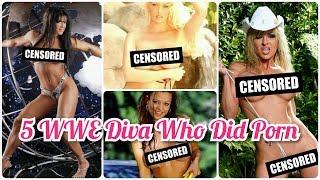 5 WWE Diva Who Did Porn | WWE Highlights