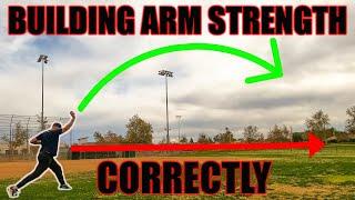 Throw the ball harder! (How t๐ correctly throw long toss)
