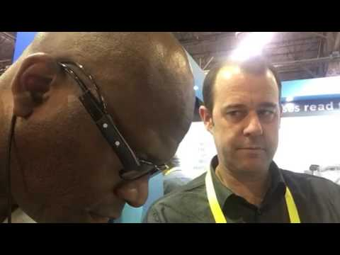 Orcam Text To Speech Reader Zennie Demo At CES 2017 #CES2017