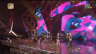 Girls Generation 소녀시대 - I Got A  Boy Live at SBS 가요대전 2013