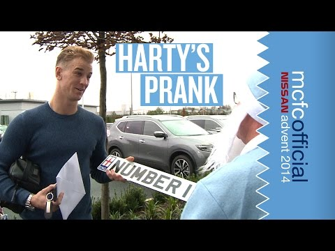 PRANK! Joe Hart's Car Gets Wrapped | Man City Advent Calendar | Day Twenty