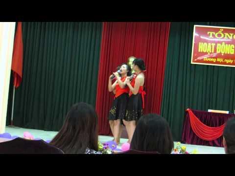 Hát cây đa quán dốc-tổng kết hè Dương Nội 2013