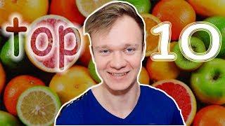 Топ 10 самых низкоуглеводных фруктов