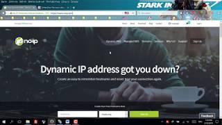 Tạo  Ip Tĩnh Thông Qua Host Free Để Truy Cập File Qua Ftp server Trên Window 10