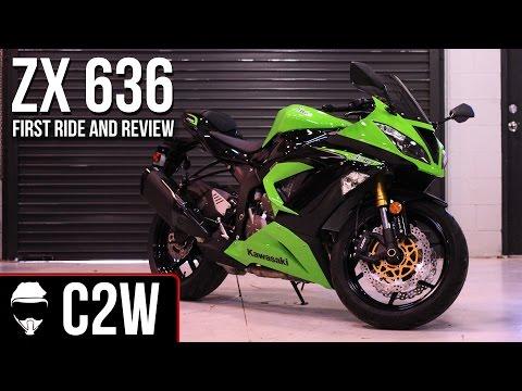 2013 Kawasaki Ninja ZX-6R 636 - First Ride and Review
