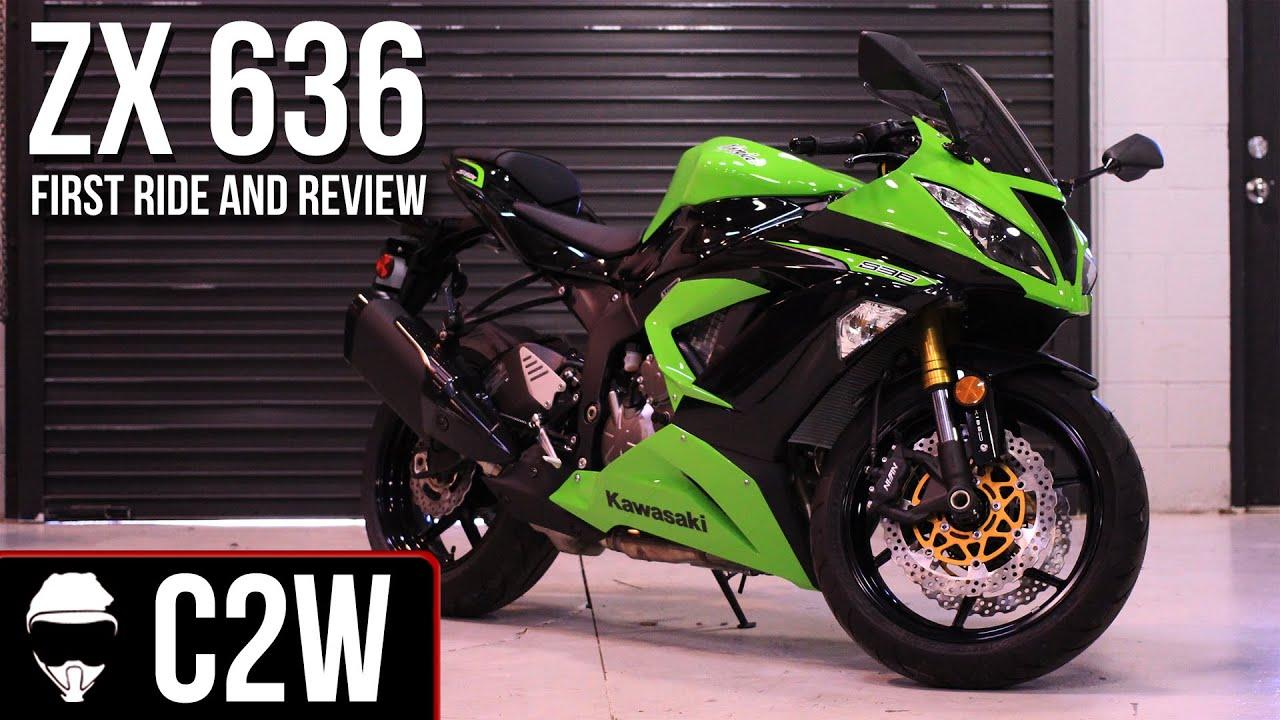 2013 Kawasaki Ninja Zx 6r 636 First Ride And Review Youtube
