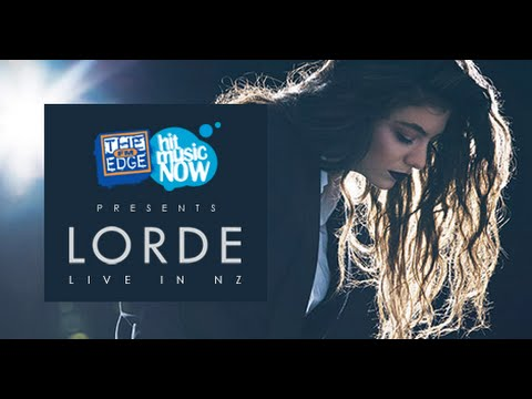 The Edge presents LORDE live in NZ