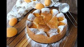 Пирог с Абрикосами 🔥 Абрикосовый Пирог к Чаю 🔥 Вкусный пирог 🥧
