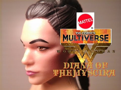 Fu-Reviews: Mattel DC Comics Multiverse Wonder Woman Movie Diana of Themyscira Figure (C&C Ares)