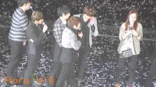 120204 Super Junior - You & I (舞蹈教學+東海的女朋友)
