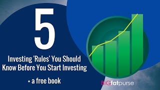 5 Investing 'Rules' You Should Know Before You Start Investing