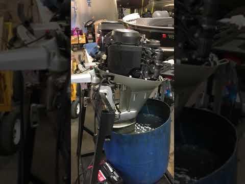2009 Honda 25 hp Electric start outboard