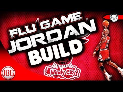 """NBA 2K18 """"Flu Game"""" Jordan Archetype Build for MyCAREER! NBA 2K18 My career Tips by JackedBillGaming"""