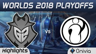 G2 vs IG Game 2 Highlights Worlds 2018 Playoffs G2 Esports vs Invictus Gaming by Onivia