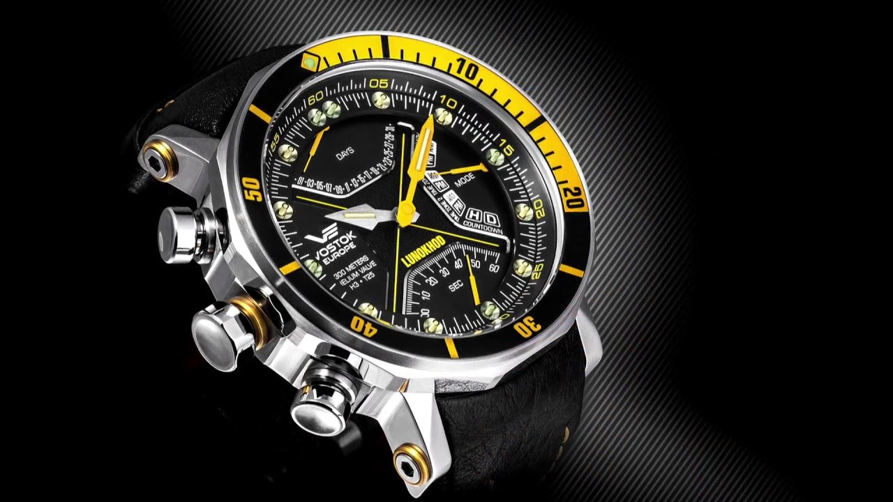 Vostok europe watch design in vilnius lithuania youtube for Vostok europe watches