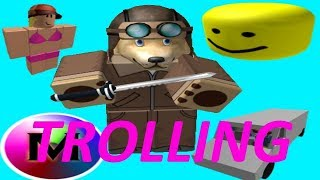 ROBLOX EXPLOITING - GRAB KNIFE AND MML ADMIN TROLLING