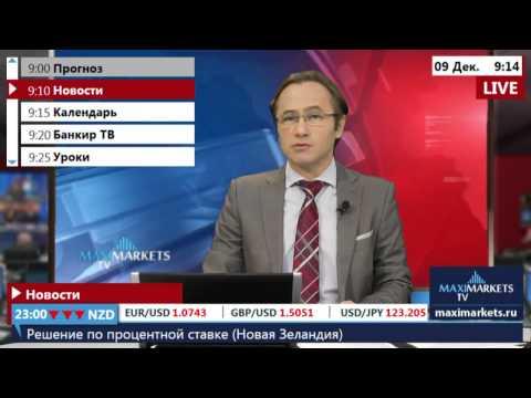 09.12.15 (09:00 MSK) - Новости форекс MaхiMarkets.