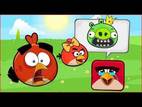 Angry Birds Animated In Red Ball 4 (HACK 2018) Игра про КРАСНЫЙ ШАРИК 4 И ЭНГРИ БЕРДЗ и СВИНКИ
