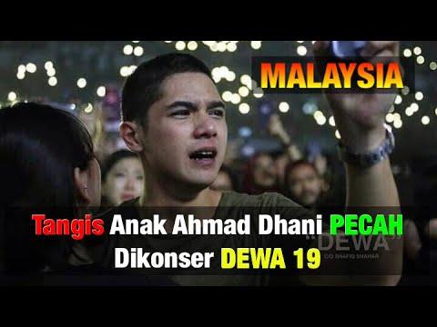 Tangis Anak Ahmad Dhani Pecah Saat Panggung Konser Dewa 19 Di Malaysia