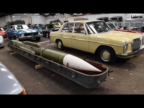 Mystery Russian Missile Up For Sale At Auction