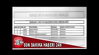 Son dakika: Yeni KHK yayımlandı! 262 kişi görevden ihraç edildi
