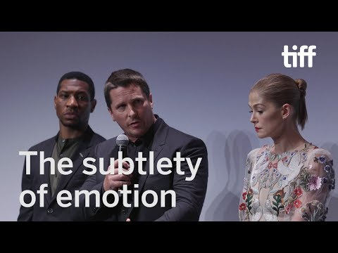 Christian Bale Speaks of an Unspoken Language | TIFF 2017