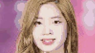 Kim Dahyun pixel art timeline