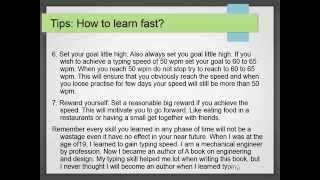 Typing Lessons : How to improve typing speed