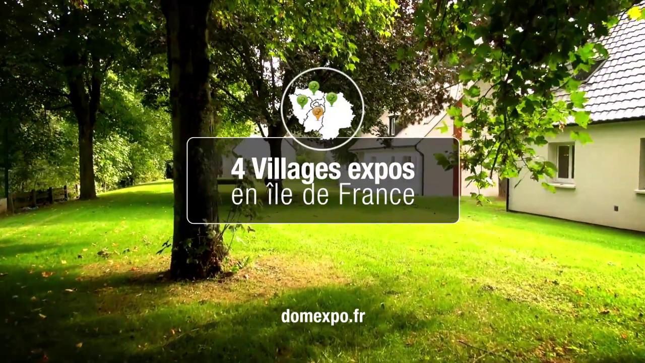 Domexpo le constructeur de votre future maison youtube for Village domexpo 91