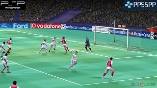 UEFA Champions League 2006 - 2007 - PSP Gameplay 1080p (PPSSPP)