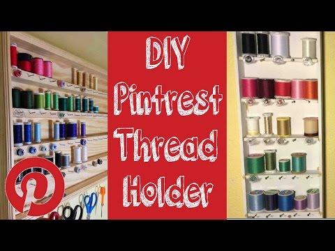 DIY Thread Hanger & Organizer