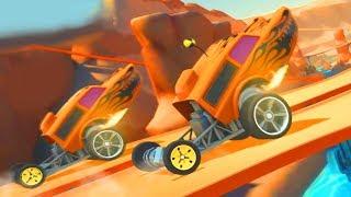 МАШИНЫ МОНСТРЫ Race off Hot wheels Игровой мультик Видео для детей Машинки как из мультика