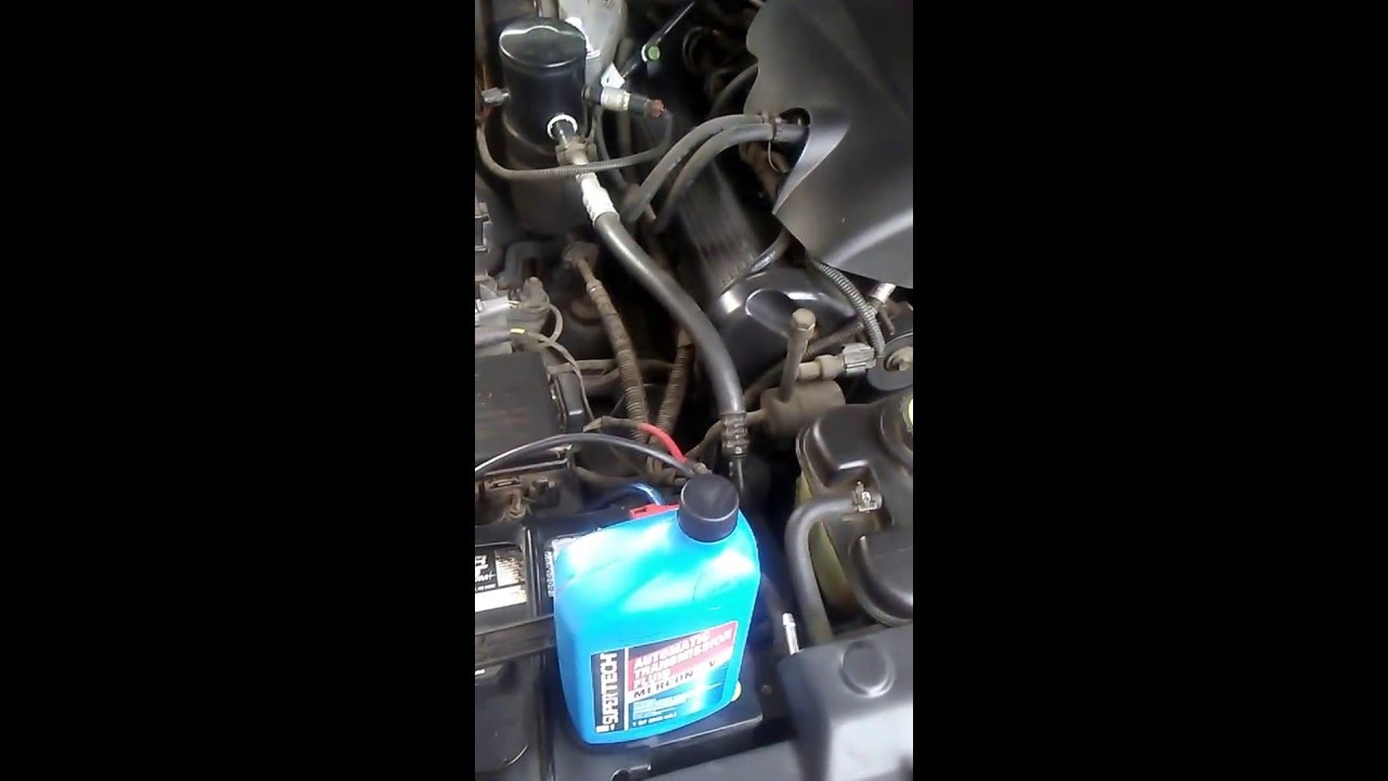 small resolution of grand marquis or crown victoria transmission fluid change