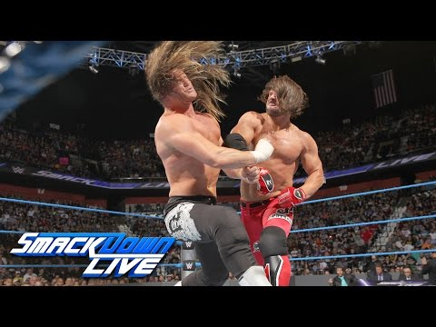 Thumbnail: Ziggler vs. Styles - If Dolph wins, he's added to World Title Match: SmackDown Live, Aug. 23, 2016