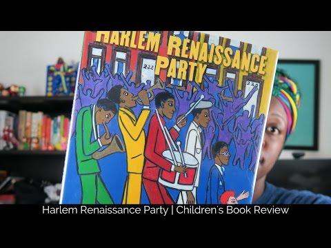 Harlem Renaissance Party - Children's Book Review