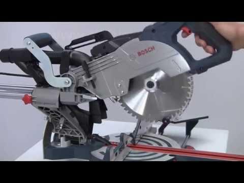BOSCH GCM 8 SDE 240v Slide mitre saw 216mm blade