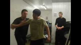 Explosive JKD Trapping By Ben & Tom - Basic Urban Combat Knife Self Defense Tactics