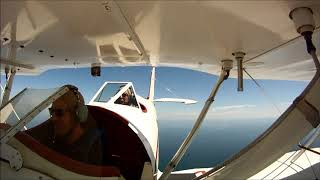 OBX Air Tours Josh takes an aerobatic flight over the Outer Banks with OBX Biplanes!