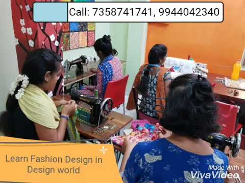 Fashion Designing Courses In Chennai Part Time Youtube