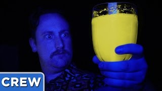 The Glow In The Dark Food Challenge