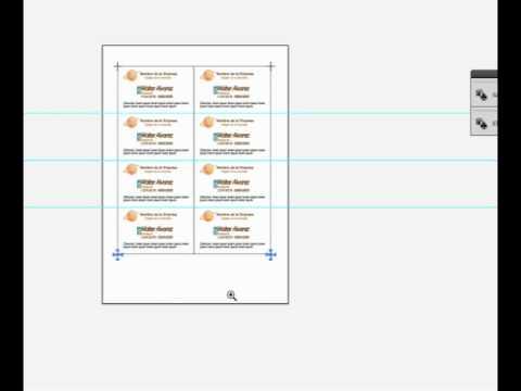 Como crear tarjetas de presentacion - YouTube