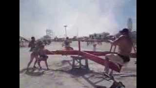 Burning Man see-saw