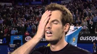 Andy Murray on ex-coach Dani Vallverdu - Australian Open 2015
