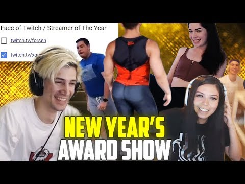 XQc Watches And Votes For Best Clips Of 2019 For NymN's New Year's Eve Award Show