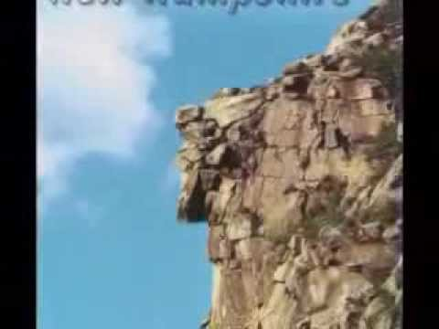 Old Man of the Mountain NH Story Collapse & Current State - YouTube