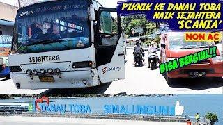 Download Video Piknik ke Danau Toba, naik Bus 'SCANIA' non-AC?? Bisa bersiul bro! MP3 3GP MP4