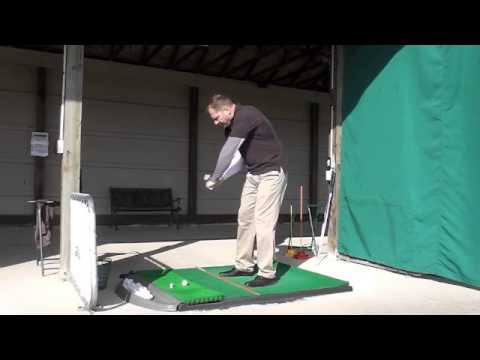 Building the perfect golf swing: 1/4 swing