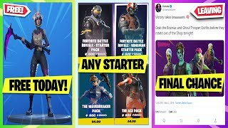*NEW* How to get OLD STARTER PACKS GLITCH! More FREE Switch Rewards, Dark Tricera Ops FREE TODAY!